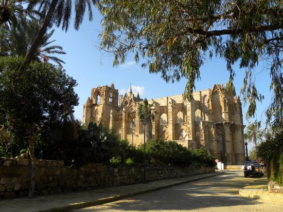 Famagusta District, Kypros: View to the Mosque (Cathedral St. George)