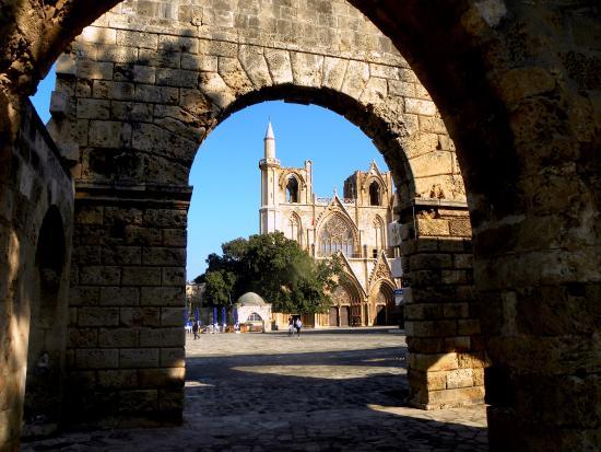 Famagusta District, Kypros: Lala-Mustafa-Pascha Moque (St. Nikolaos Cathedral)