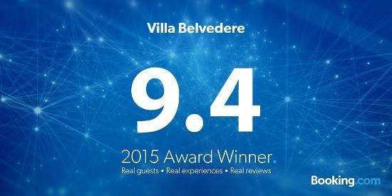 Villa Belvedere: 2015 scores