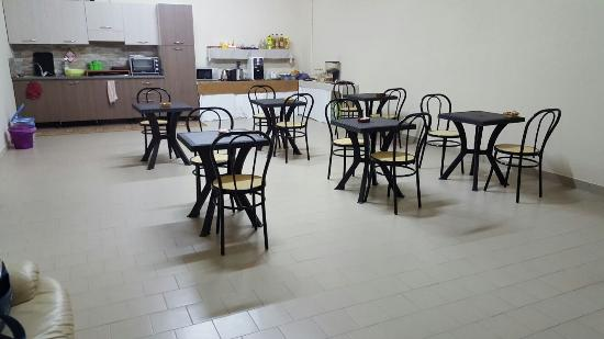 Cimitile, إيطاليا: Sala colazione