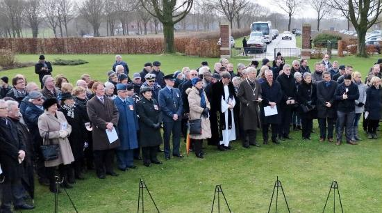 Groesbeek Canadian War Cemetery: Memorial visitors