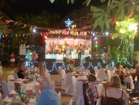 Karon Sea Sands Resort & Spa: Новогодний ужин