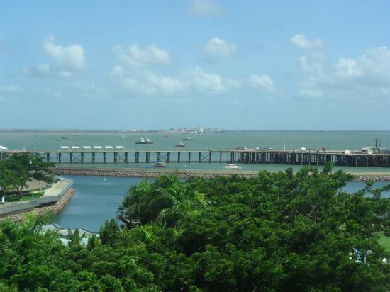 view across to stokes hill wharf picture of vibe hotel darwin rh tripadvisor com au