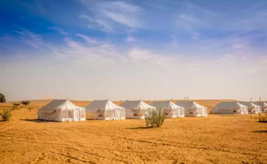 Sheesh Mahal Camp Jaisalmer