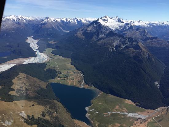 Κουίνσταουν, Νέα Ζηλανδία: Air Wakatipu flight to Milford