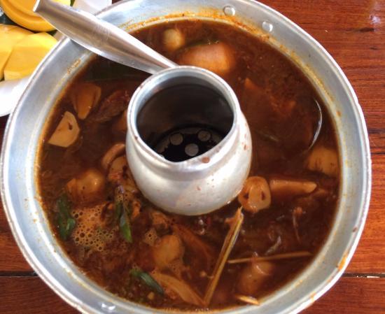 Krua Pak Wan Baan, Sai Yok - Omdömen om restauranger - TripAdvisor