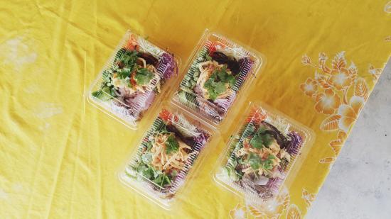 Provinz Phetchaburi, Thailand: ข้าวคลุกกะปิ