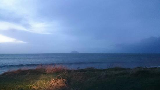 Wigtown, UK: Local Area including a view out to Alisa Craig Island nr Girvan