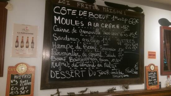 Menu picture of l anvers du decor paris tripadvisor