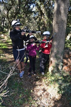 Villeneuve-les-Maguelone, Frankrike: LASER'parc