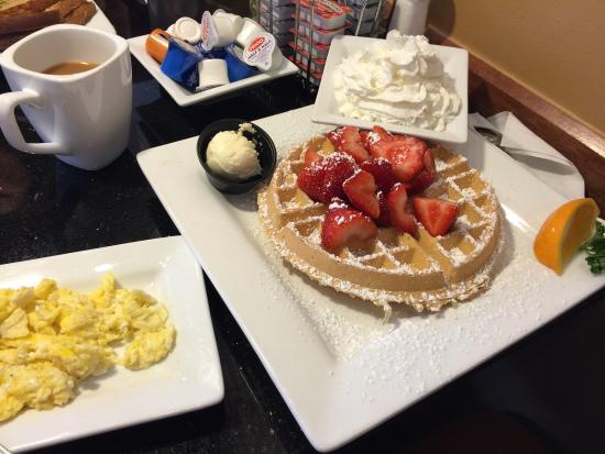 Уэст-Мельбурн, Флорида: Завтрак