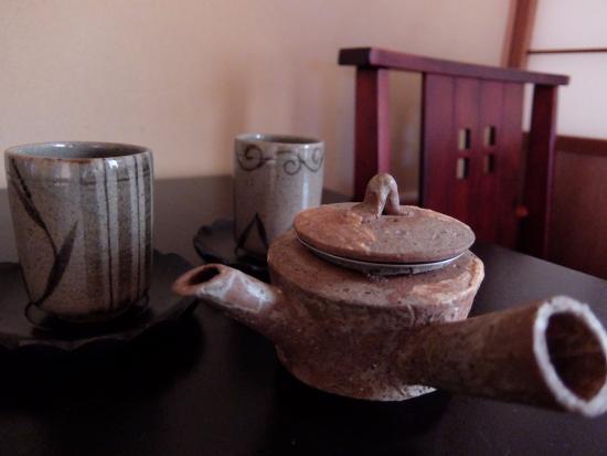 Ryokan Matsunoi : お茶もおいしい