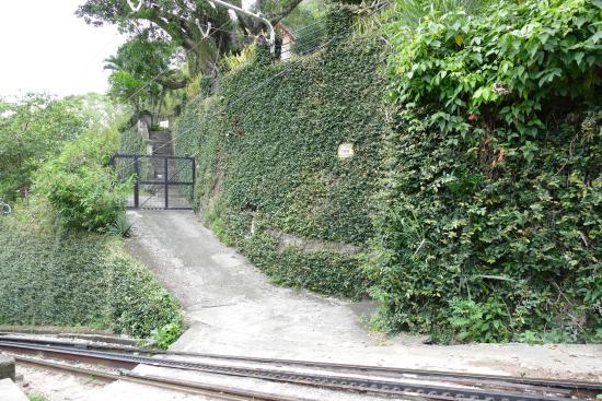 Casa Caminho do Corcovado: Eingangstor
