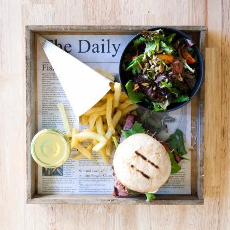 B'artiste : Hamburger 's middags