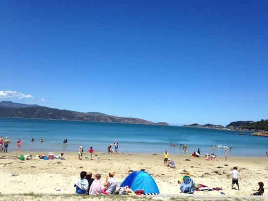 Scorching Bay: Wonderful sand and water when it isn't windy. Loved spending the day there.