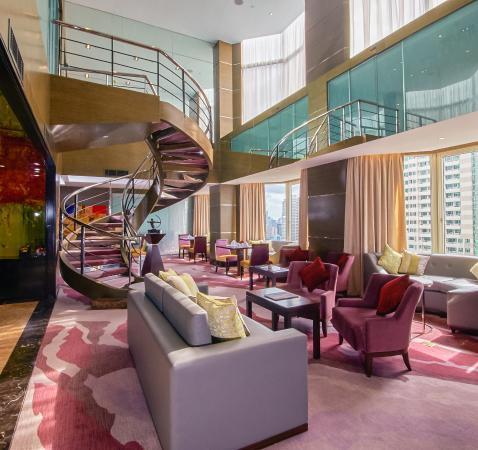 Diamond Hotel Philippines: Diamond Club Lounge