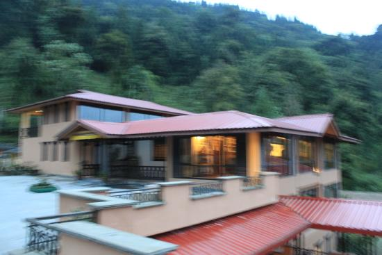 hotel view picture of the chumbi mountain resort spa pelling rh tripadvisor in
