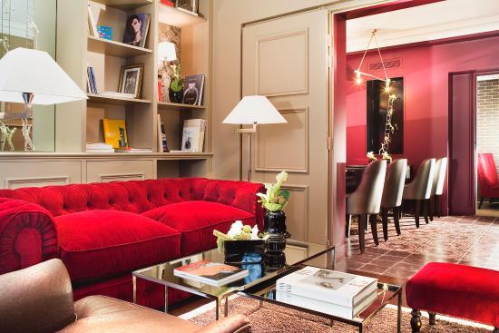 Hotel des Academies et des Arts: Lounge