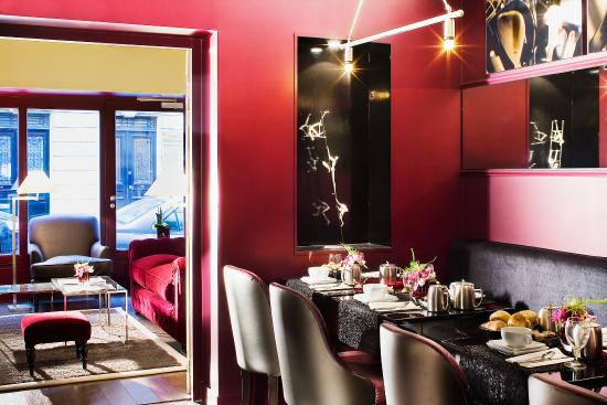 Hotel des Academies et des Arts: Breakfastroom