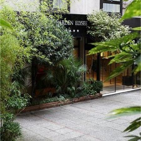 TOP Garden Elysee Hotel Paris_Entrance