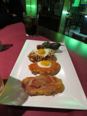 Restaurante De Prado: Wonderful tapas