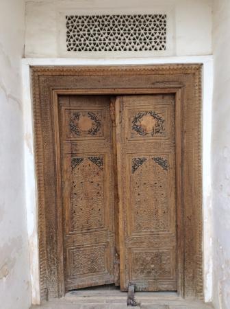 Shakhrisabz, Uzbequistão: Дорус-Сиадат - резные двери в усыпальницу