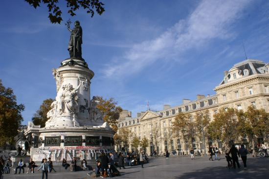 Image result for place de la republique paris