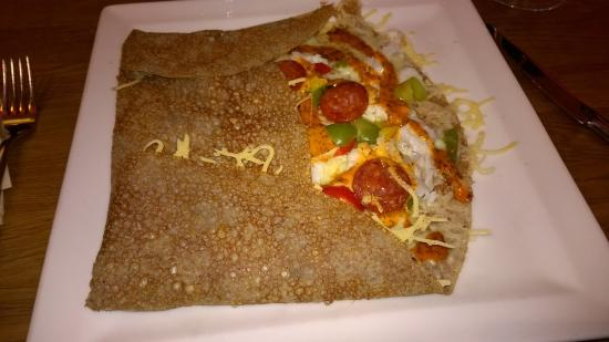 Le bar a crepes : Galette terre/mer