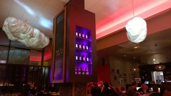 Le bar a crepes : Déco sympatique