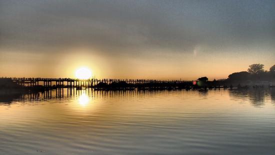 Puente U Bein: sunset