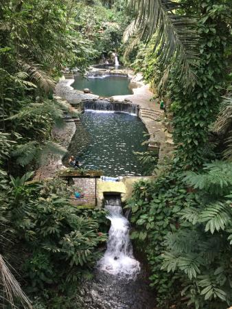 Three Of Many Natural Hot Spring Pools Bild Von Hidden Valley