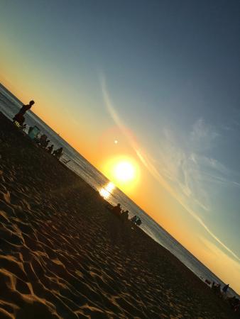 Serena Hotel Punta del Este: Puesta de sol