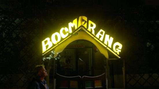 Boomerang Hotel : It's a popular spot for people from Down Under