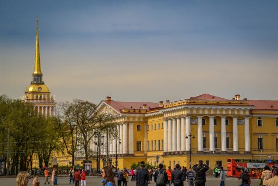 St. Petersburg, Russia: Russian admiralty building