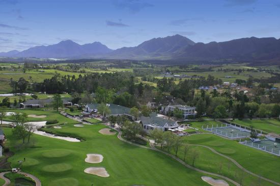 Fancourt : Aerial Of The Hotel