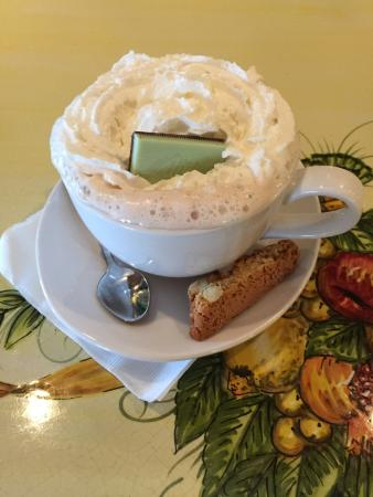 Olive Garden: Hot Chocolate on a very cold day