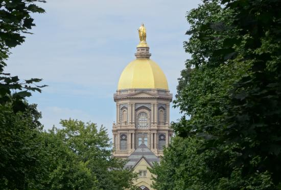 University of Notre Dame : Golden Dome