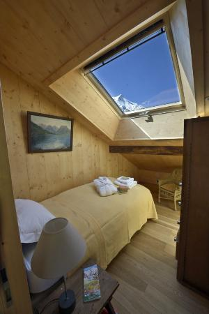 Chalet les Mazots: Single Room