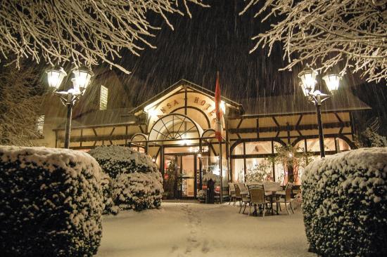 Mendig, Jerman: Hotel HANSA im Winter