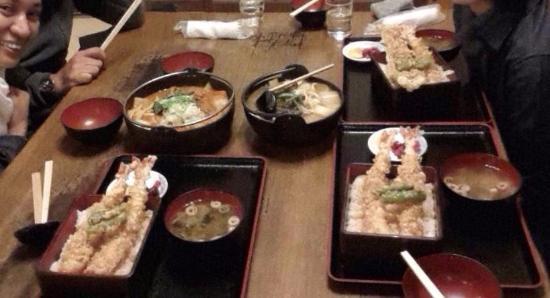 Kosaku Hoto Kosaku, Kawaguchiko: Set menu