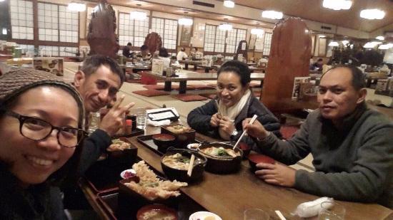 Kosaku Hoto Kosaku, Kawaguchiko: จะทานละนะ