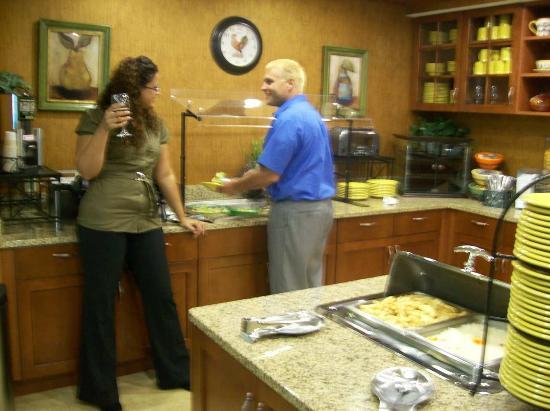 Homewood Suites Ocala at Heath Brook: Welcome Home Reception