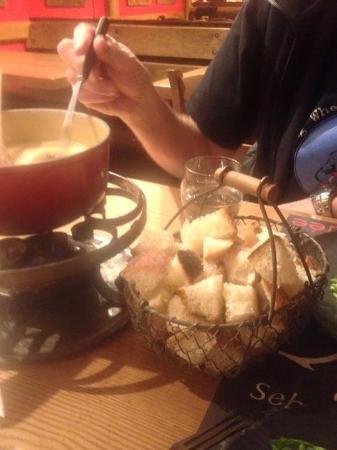 La Cordee: Delicious fondue!