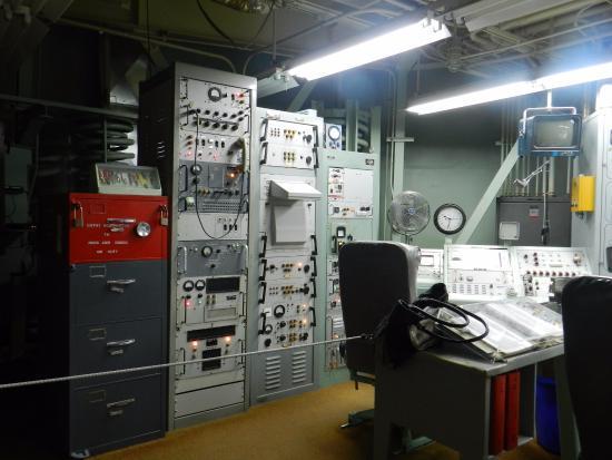 Sahuarita, AZ: Ovládací místnost raketového sila