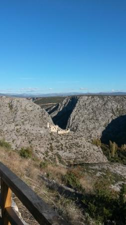 Drnis, Croatia: Cikola River Canyon
