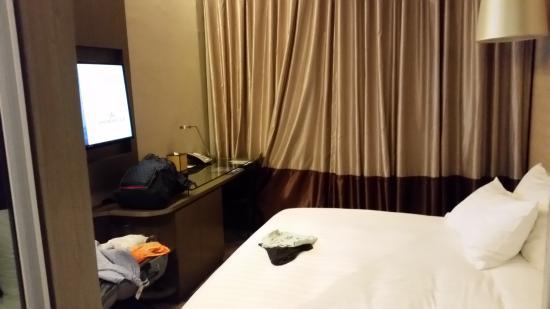 Dorsett Singapore: La camera da letto