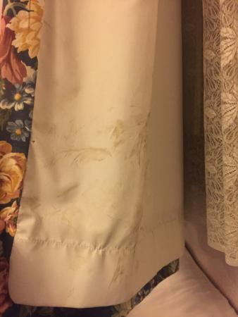 بريتانيا هوتل ولفرهامبتون: mould on the curtains