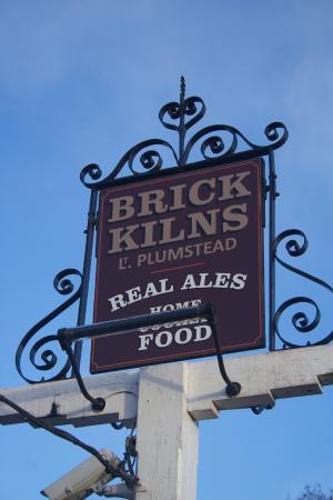Brick Kilns: Pub signage