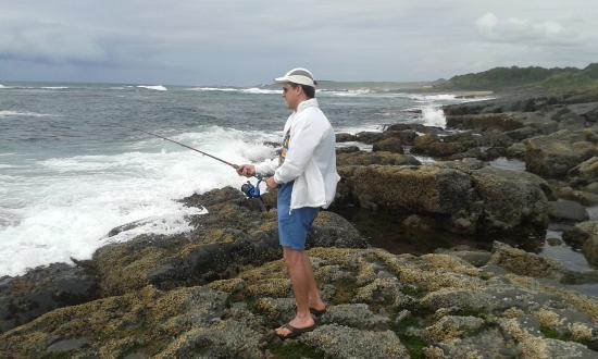 Willowvale, Sudáfrica: Fishing near Kob Inn