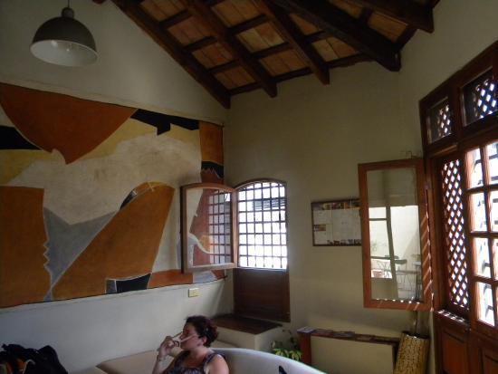 Posada Del Marques: habitación de lectura